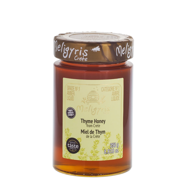 Meligyris Honey Pure Thyme Honey, 250 g | FarmOrganica