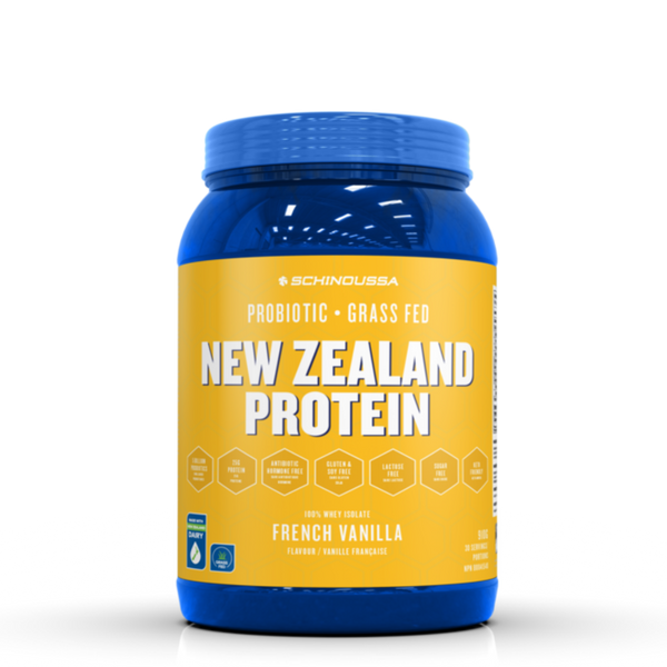 New Zealand Protein, French Vanilla, 910 g | FarmOrganica
