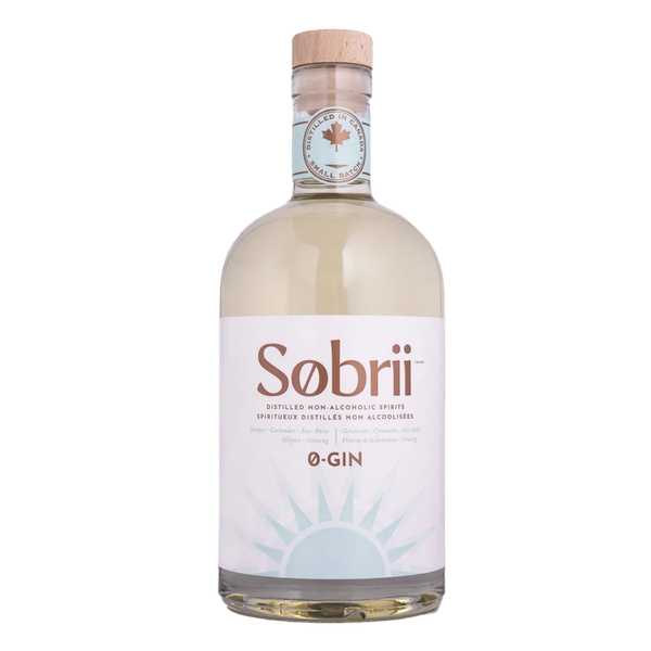 Sobrii 0-Gin, 750mL | FarmOrganica