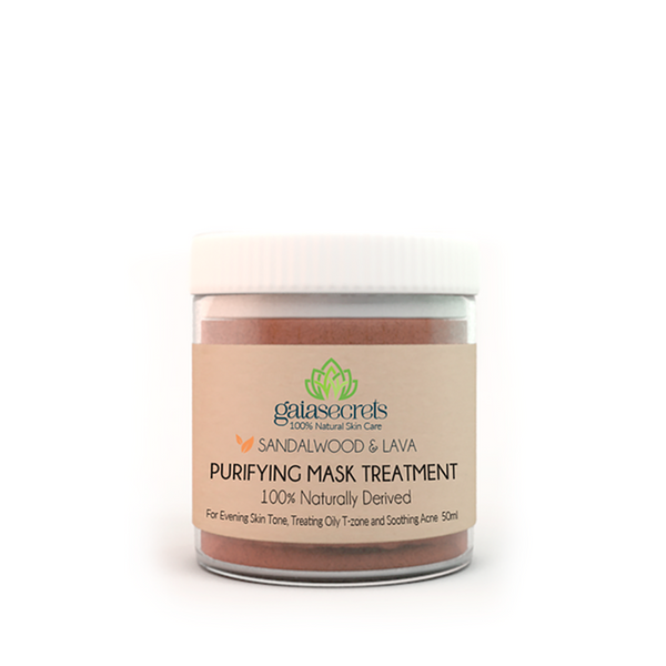 Gaia Secrets Sandalwood & Lava Clay Purifying Mask - FarmOrganica
