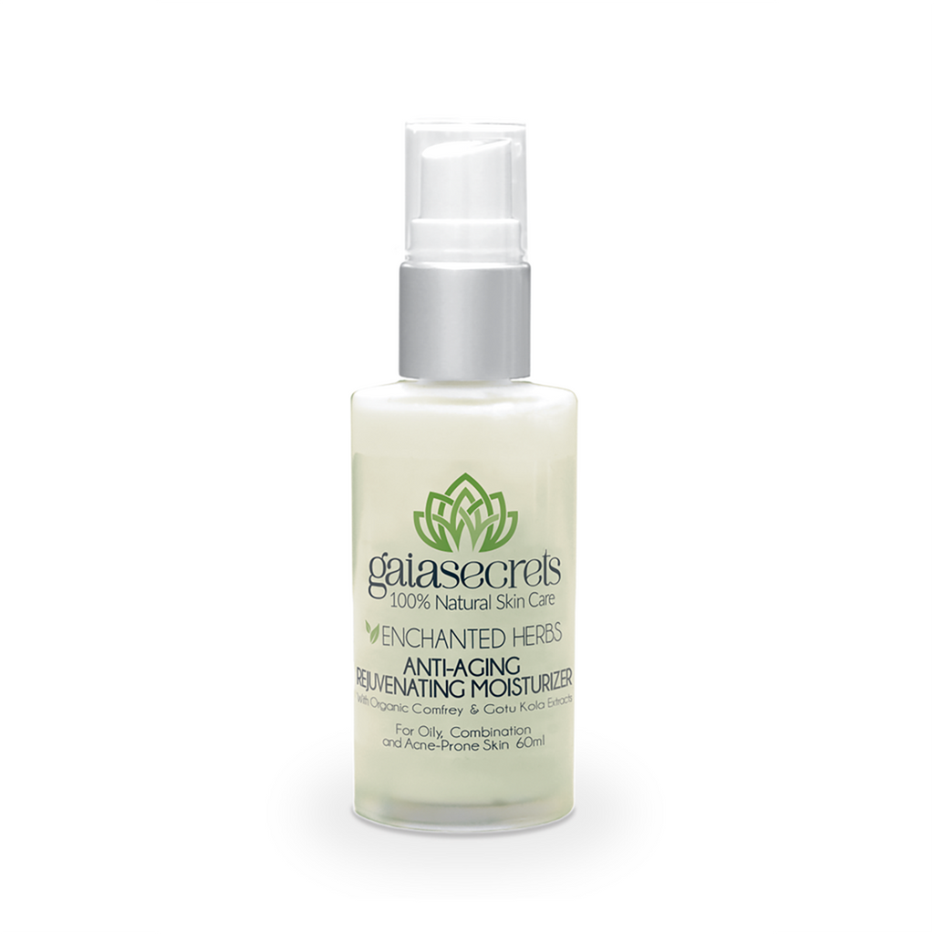 Gaia Secrets Enchanted Herbs Anti-Aging Moisturizer For Oily, Combination and Acne-Prone Skin - FarmOrganica