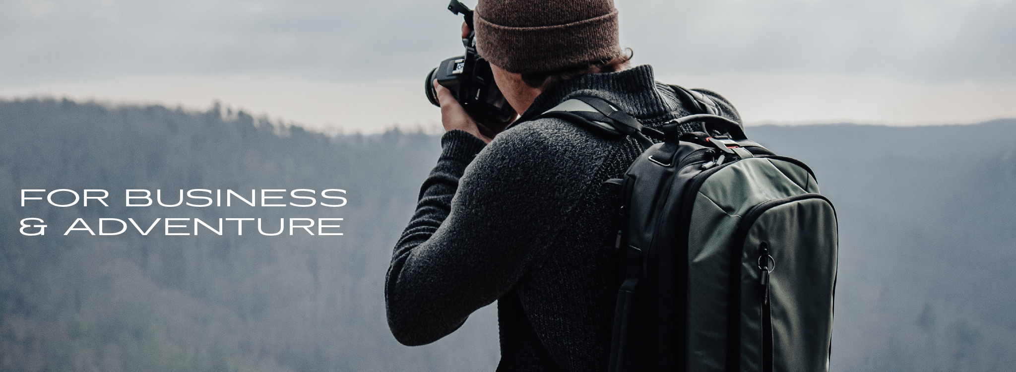 Outdoor business backpack