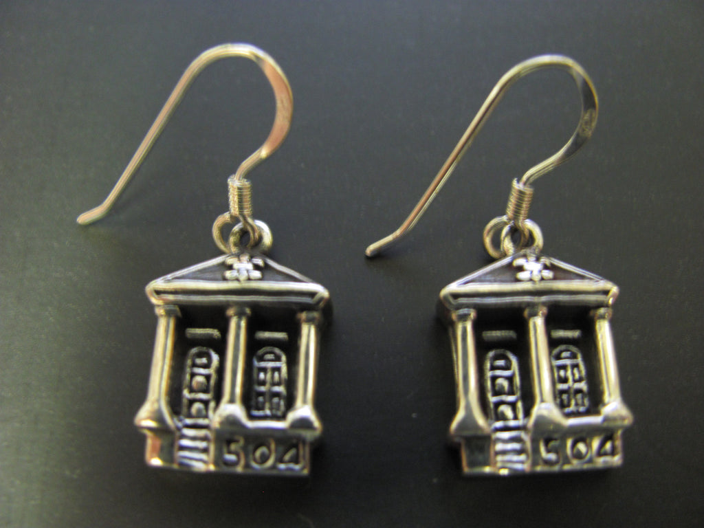 Shotgun 504 house Earrings