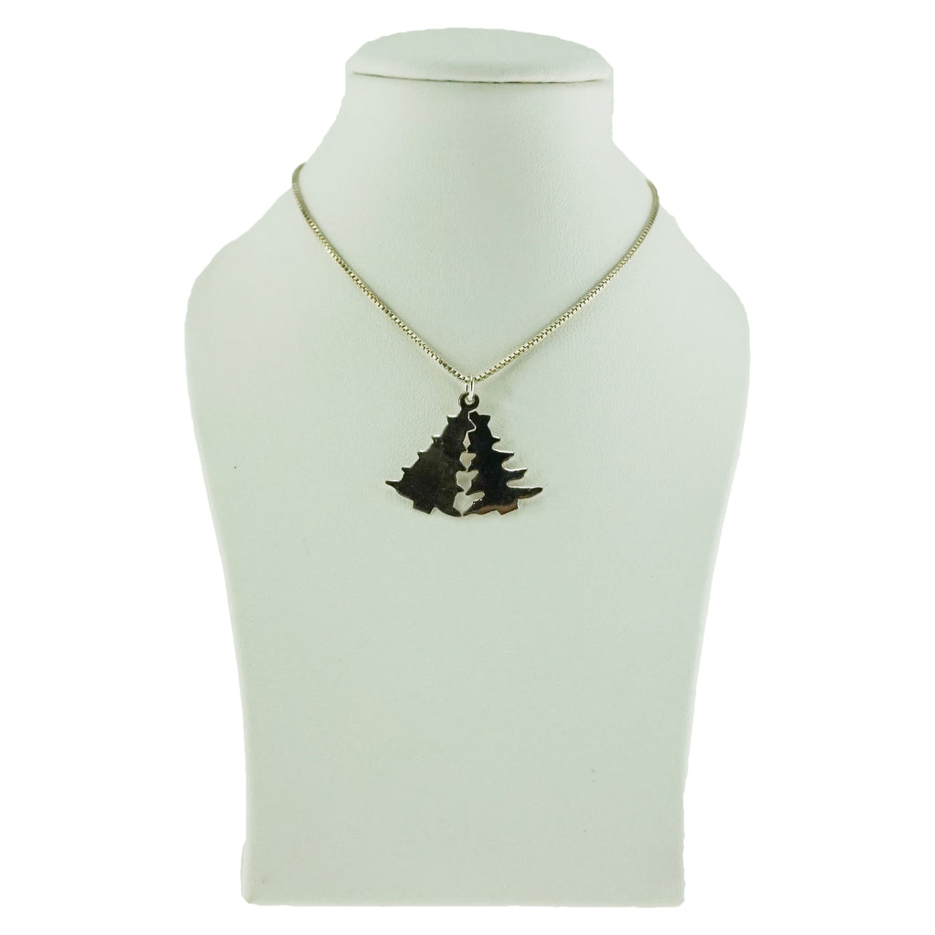 Christmas Tree Double Pendant