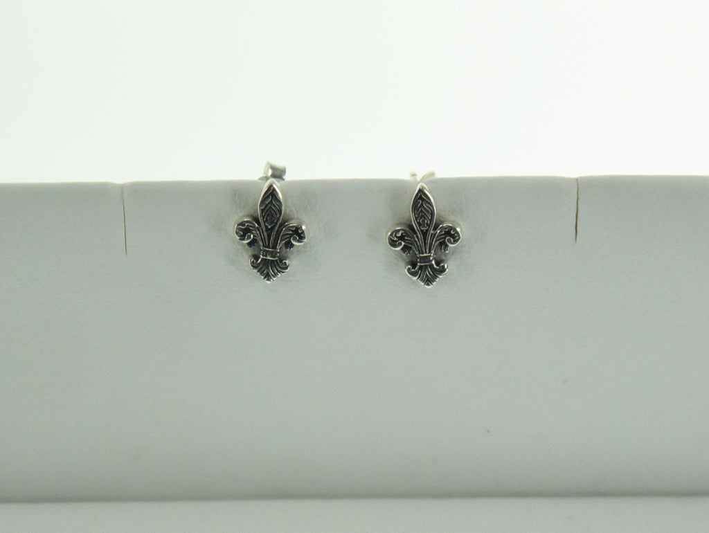 Filigree Fleur De Lis earrings