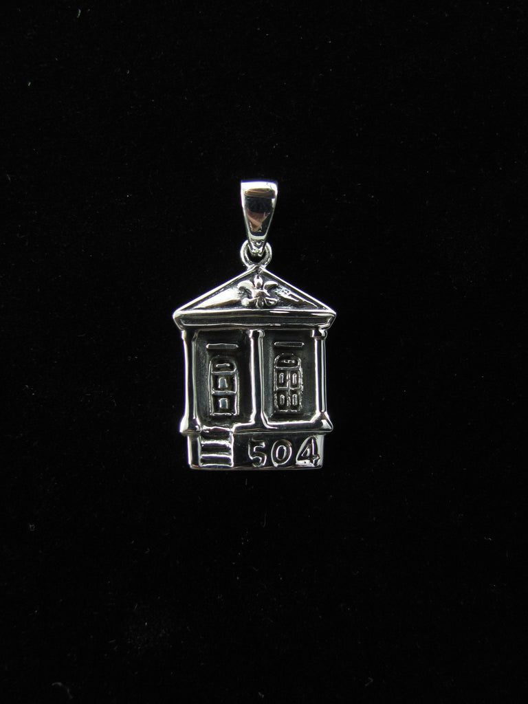 504 Shotgun House Pendant