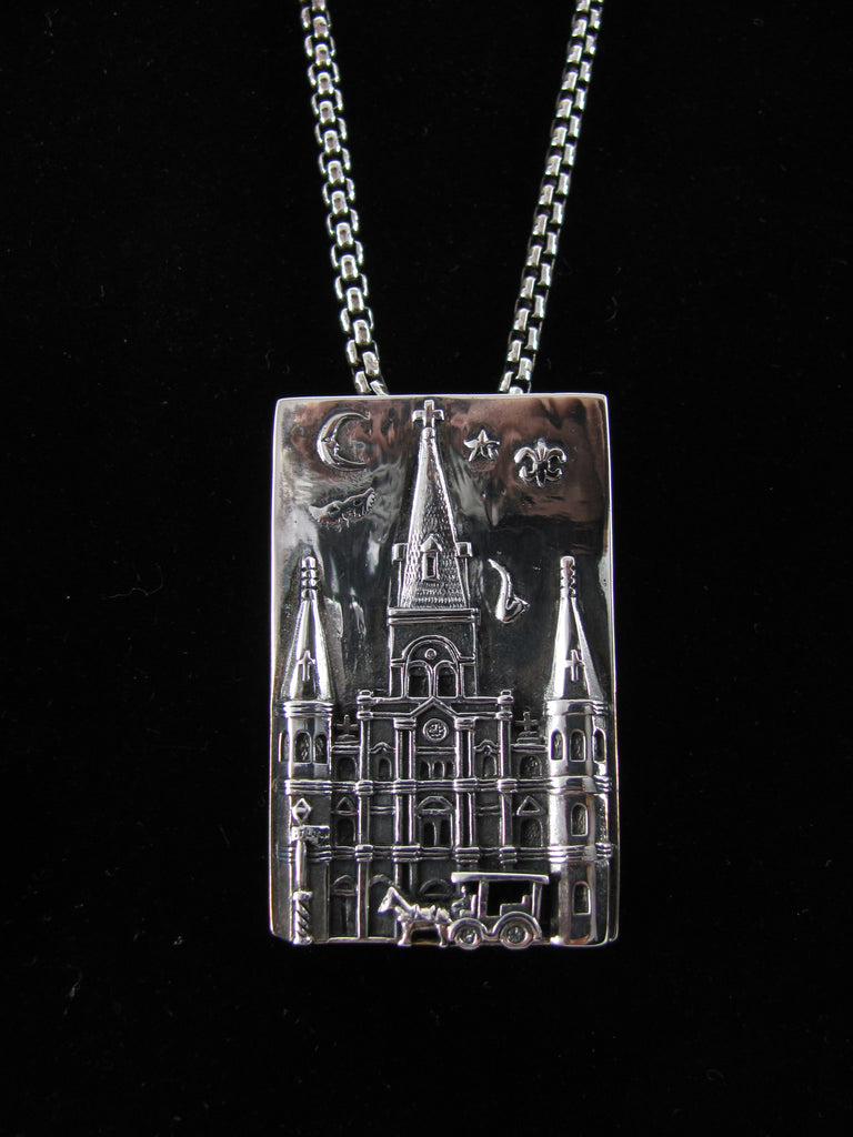 St. Louis Cathedral pin/pendant