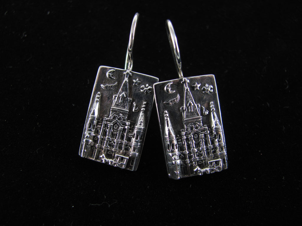 St. Louis Cathedral earrings