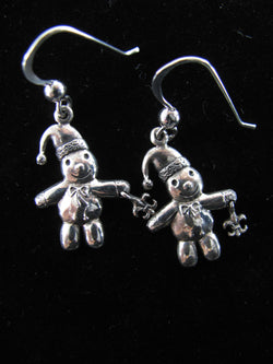 Snowman Dangle earrings