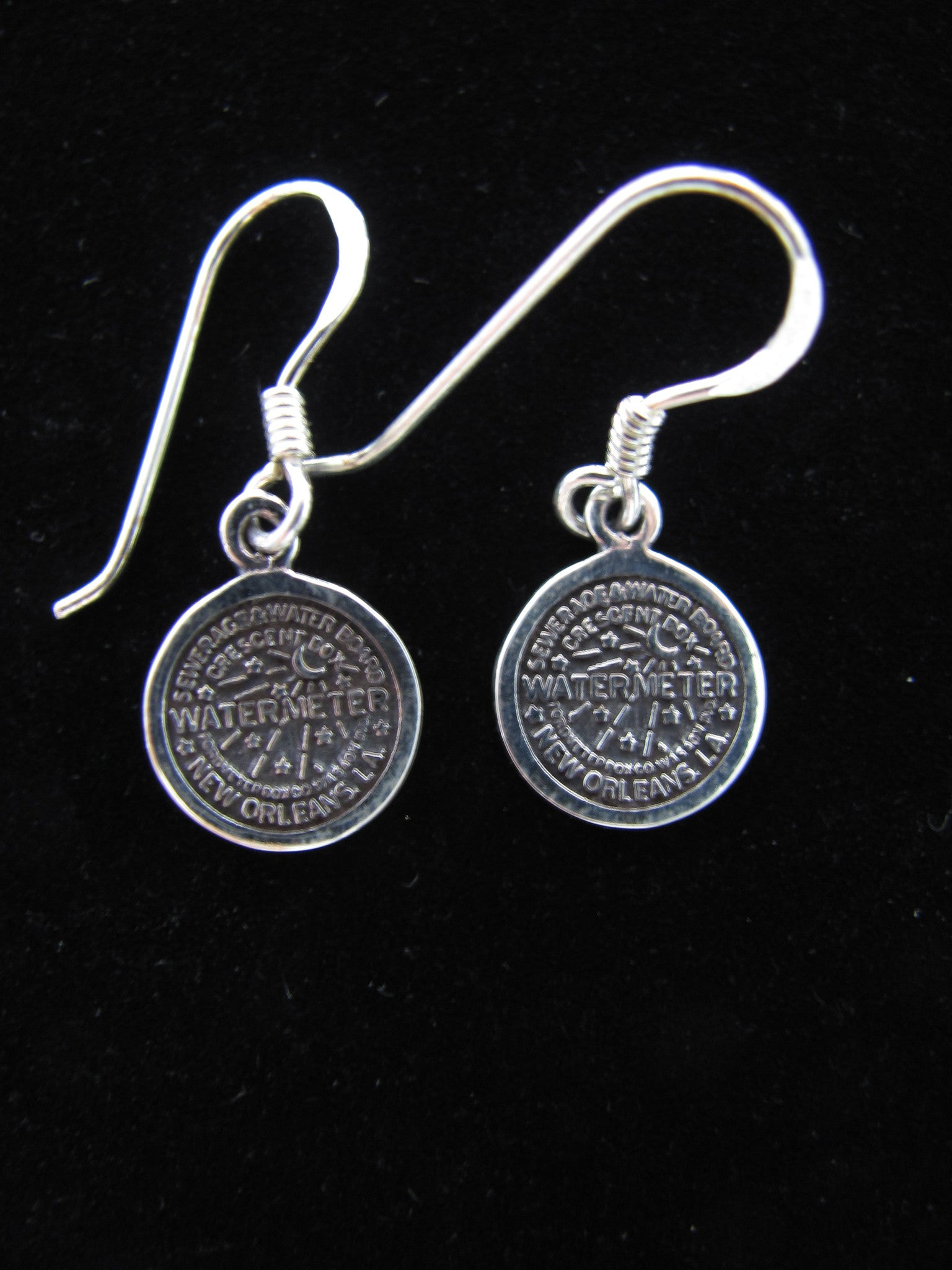 Water meter earrings (tiny)