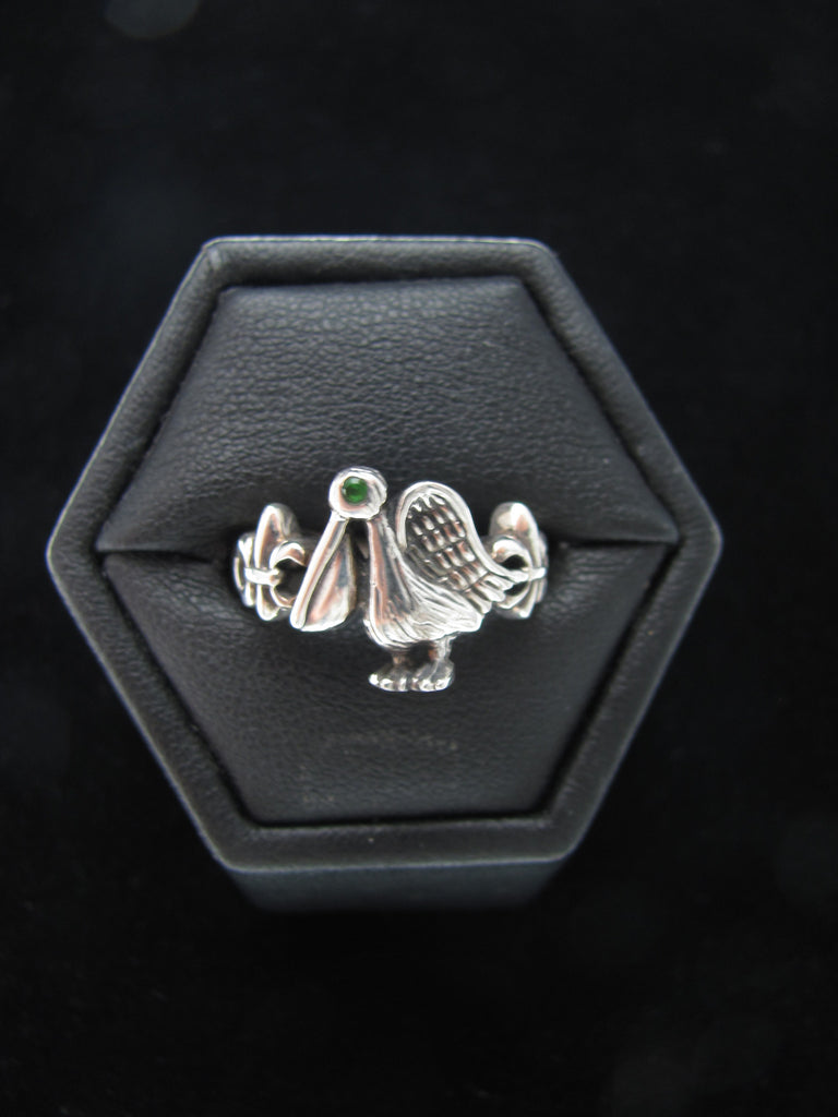 Thin Pelican Ring