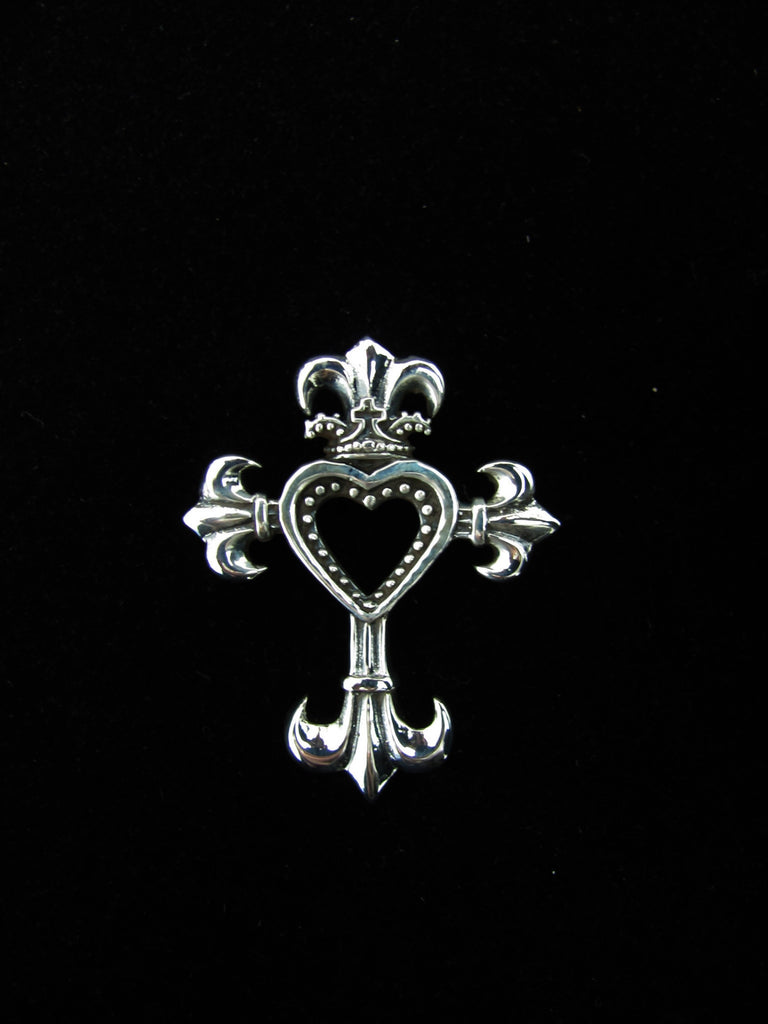 Center of love cross pendant