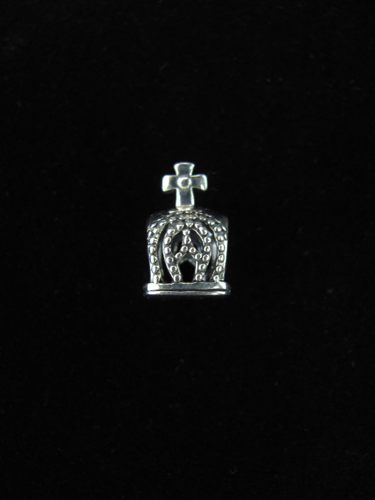 Crown with Cross Bead