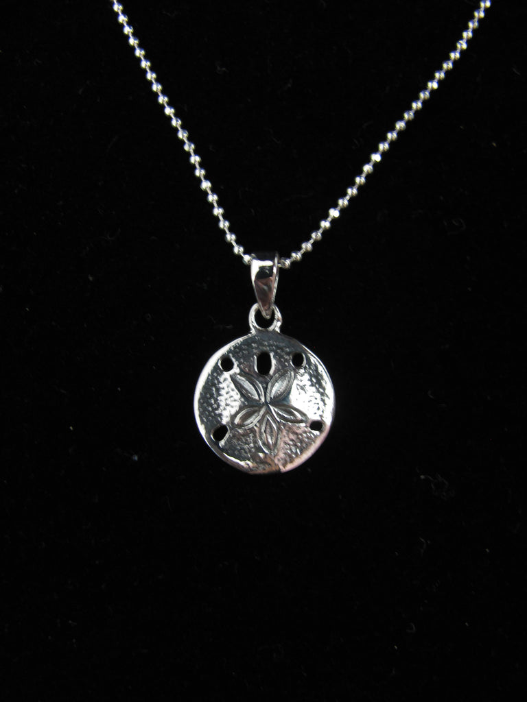 Sand dollar pendant (small)