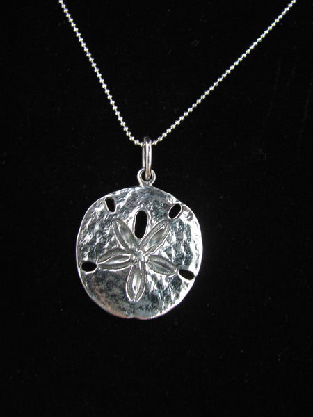 Sand dollar pendant (large)