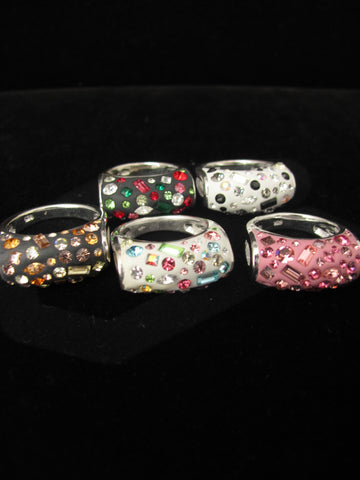 Candy Collection Top Round ring