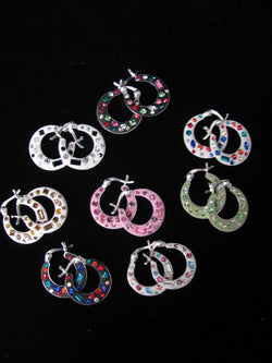 Candy Collection flat hoops