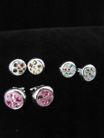 Candy Collection Small Circle studs