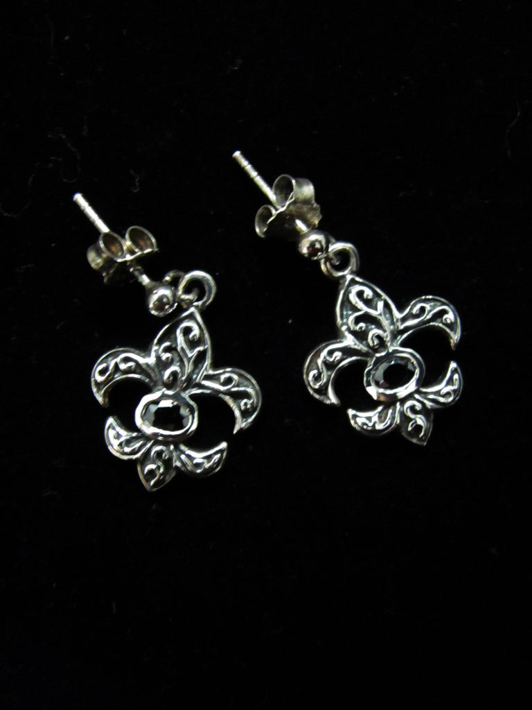 Zoe Fleur de Lis Earrings