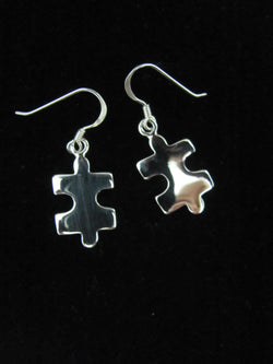 Puzzle Dangle Earrings