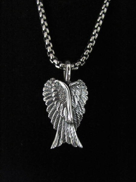 Large Double Wings Pendant