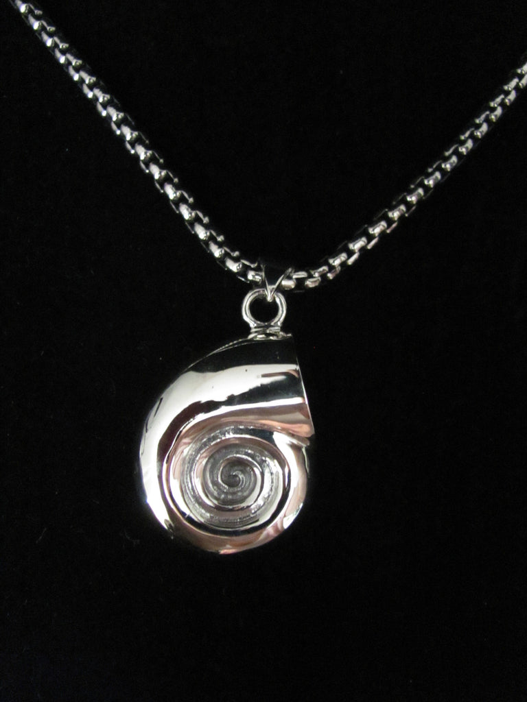 Snail Hollow Pendant