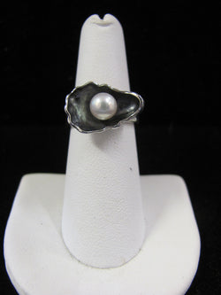 New Oyster Pearl Ring
