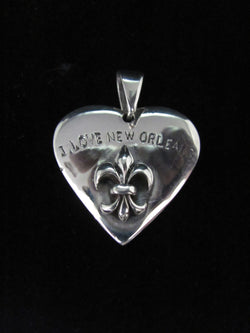 """I Love New Orleans"" Survivor Pendant"