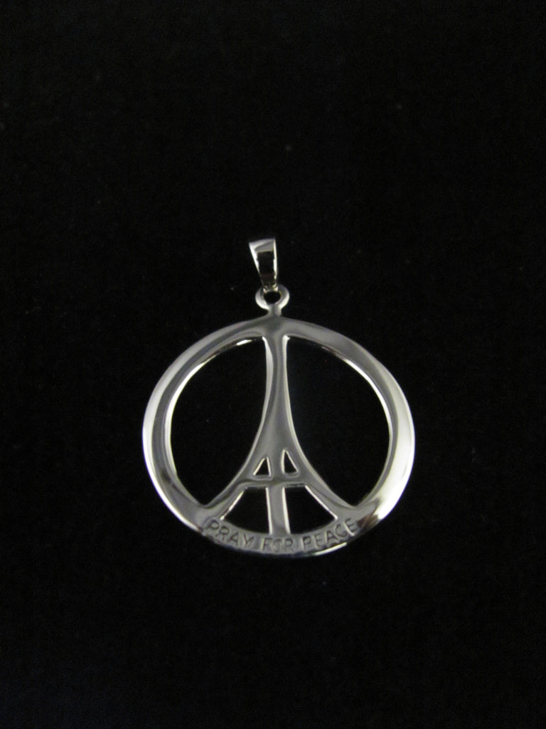 Pray for Peace pendant