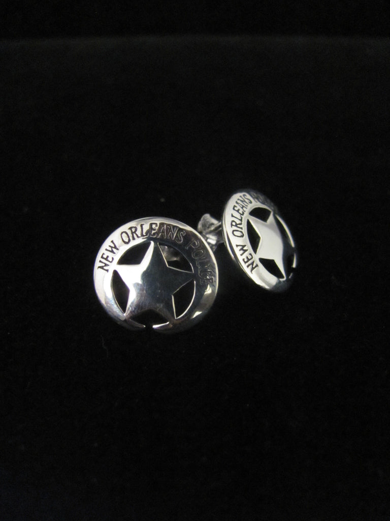 New Orleans Police Earrings