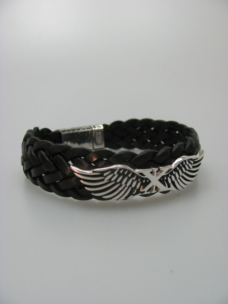 Double Wing Braided Bracelet