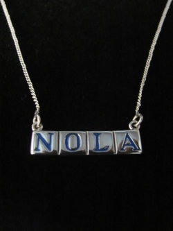 Nola Street Tile Necklace