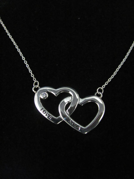 Holding Hearts Necklace