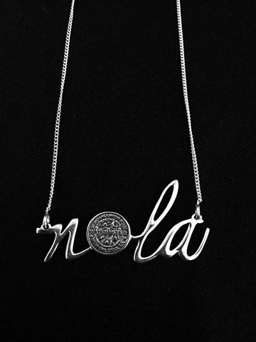 NOLA water meter necklace