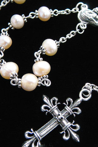 Freshwater Pearl Rosary