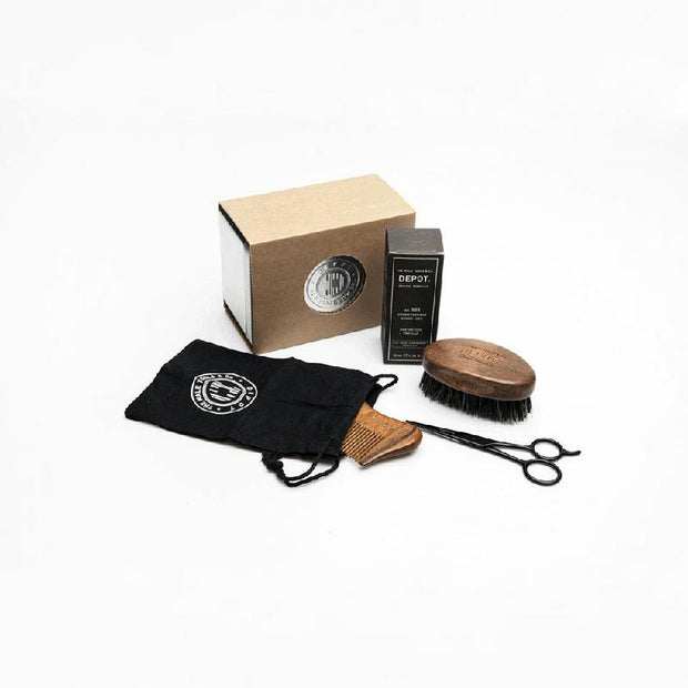 Metal Box Beard Set
