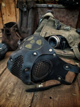 Load image into Gallery viewer, Radioactive Leather Face Mask