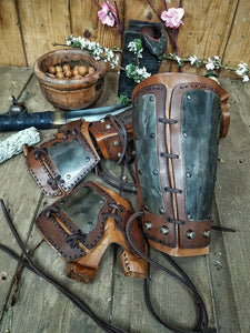 Samurai Armoured Bracers