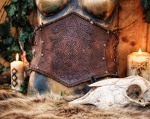 Load image into Gallery viewer, Viking Dragon Knot Underbust