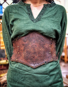 Viking Dragon Knot Underbust
