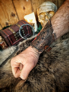 WOW Horde Leather Bracelet