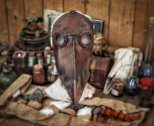 Load image into Gallery viewer, Plague Doctor Mask.