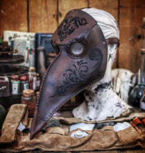 Load image into Gallery viewer, Plague Mask Floral