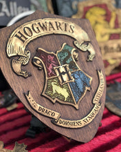 Load image into Gallery viewer, Hogwarts Wood Sign