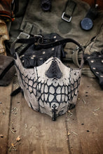 Load image into Gallery viewer, Leather Skull Face Mask