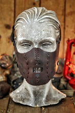 Load image into Gallery viewer, Hannibal Lecter Leather Mask