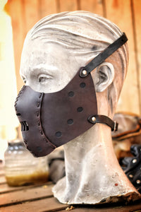 Hannibal Lecter Leather Mask