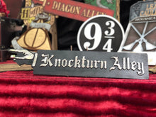 Load image into Gallery viewer, Knockturn Alley Wood Sign.