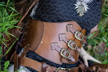 Load image into Gallery viewer, Leather Underbust