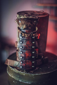 Post Apocalyptic Steel Bracers
